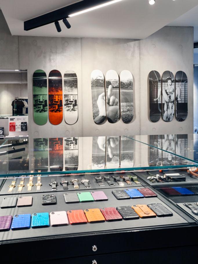 Concept store em paris