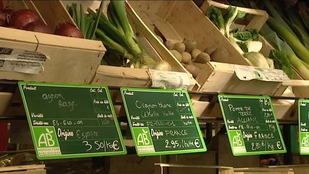 comida orgânica em Paris